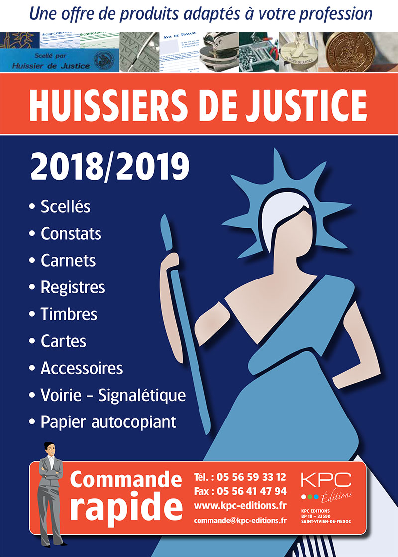 KPC Catalogue Huissier De Justice PDF HD